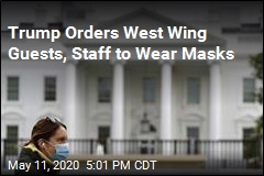 Mask Now Required to Enter West Wing