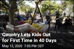 Country Lets Kids Out for First Time in 40 Days