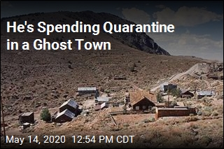 He's Spending Quarantine in a Ghost Town