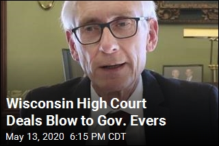 Wisconsin High Court Deals Blow to Gov. Evers
