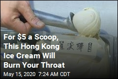 Hong Kong's Newest Flavor of Ice Cream: Tear Gas