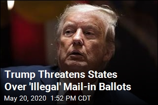Trump Threatens Michigan, Nevada Over Mail-in Ballots