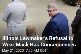 Illinois Lawmaker Removed for Refusing to Wear Mask
