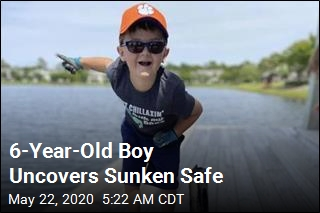 Boy, 6, Goes Fishing, Reels in Missing Safe
