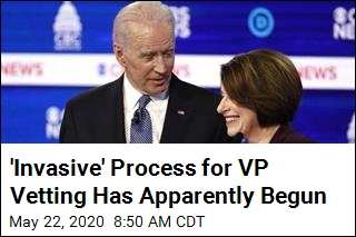 Report: Biden Asked Klobuchar to Be Vetted for VP