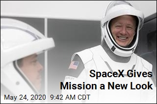 SpaceX Gives Mission a New Look