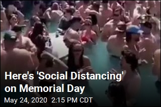 Here's 'Social Distancing' on Memorial Day