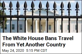The White House Expands Its Coronavirus Travel Ban
