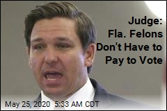 Judge: Fla. Felons Don't Have to Pay to Vote