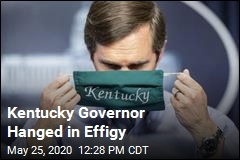Kentucky Governor Hanged in Effigy