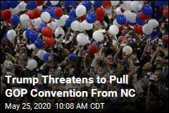 Trump Threatens to Pull GOP Convention From NC