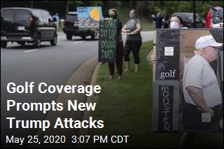 Golf Coverage Prompts New Trump Attacks