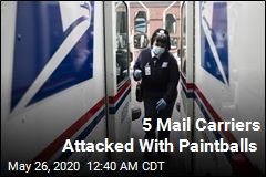 Suspects Carry Out Paintball Attacks on Postal Workers