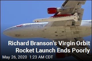 1st Rocket Launch for Richard Branson's Virgin Orbit Fails