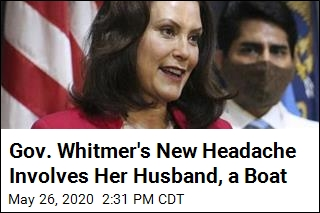 Gov. Whitmer's New Headache Involves Her Husband, a Boat