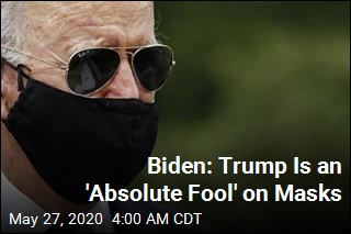 Biden, Trump Spar Over Masks