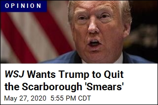 WSJ Editorial Slams Trump for Scarborough 'Smear'