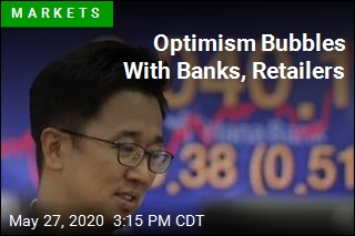 Optimism Bubbles With Banks, Retailers