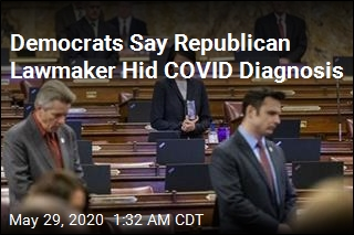 State Reps Say Fellow Lawmaker Hid COVID Diagnosis