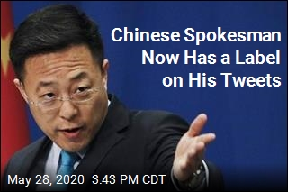 Twitter Fact-Checked China, Too