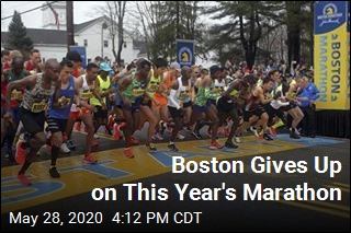 For the First Time Since 1896, No Boston Marathon