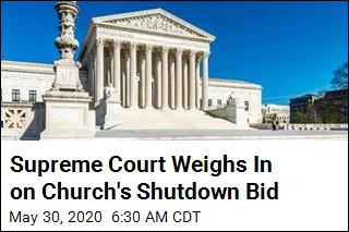 Supreme Court Weighs In on Church's Shutdown Bid