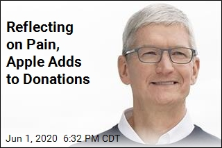 Apple Adds to Donations Addressing Inequality