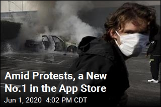 Amid Protests, a New No.1 in the App Store