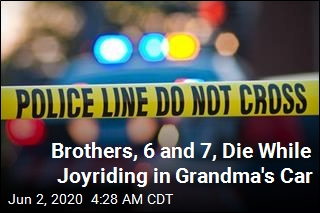 Brothers, 6 and 7, Die After Taking Grandma's Car for Ride