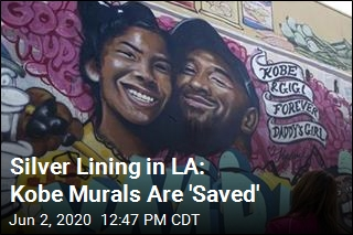 Silver Lining in LA: Kobe Murals Are 'Saved'