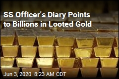 SS Officer's Diary Points to Billions in Looted Gold