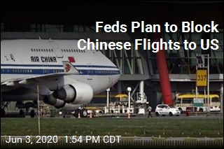 Feds to Block Chinese Airlines From Flying to US