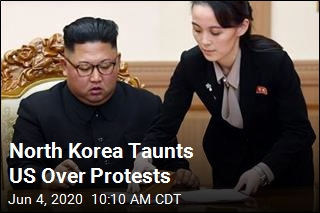 North Korea Taunts US Over Protests