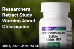 Authors Pull Influential Study on Chloroquine