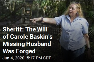 Sheriff: The Will of Carole Baskin's Missing Husband Was Forged