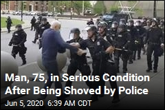 Video of Cops Shoving Elderly Protester Viewed 47M Times