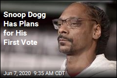 Snoop Dogg Has Plans for His First Vote
