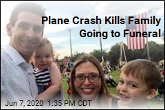 Family, Pilot Die in Crash While Going to Funeral