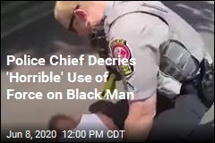 Police Chief Decries 'Horrible' Use of Force on Black Man