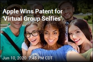 Apple Wins Patent for 'Virtual Group Selfies'