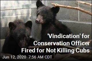 'Vindication' for Conservation Officer Fired for Not Killing Cubs