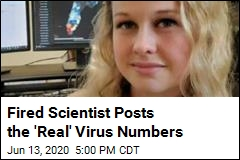 Fired Scientist Sets Up 'Better' Virus Dashboard
