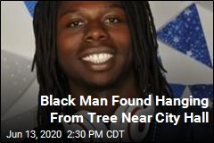 Black Man Found Hanging From Tree Near City Hall