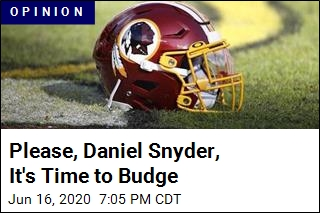 Please, Daniel Snyder, It's Time to Budge