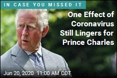 Prince Charles Still Hasn't Got Senses of Smell, Taste Back