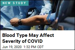 Blood Type May Affect Severity of COVID