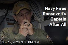 Navy Fires Roosevelt's Captain After All
