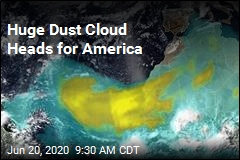 Huge Dust Cloud Heads for America