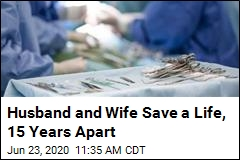 Husband and Wife Save a Life, 15 Years Apart