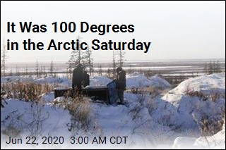 It Was 100 Degrees in the Arctic Saturday